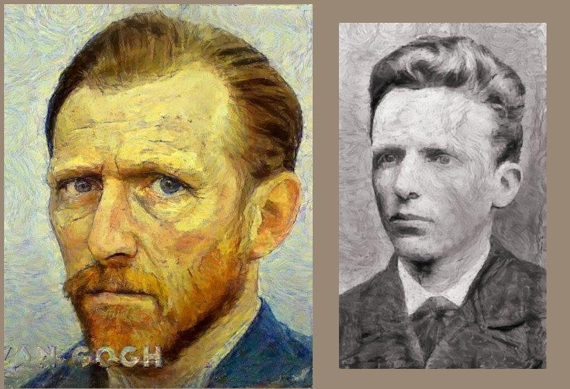 Theo Van Gogh, Vincent van Gogh par baudet